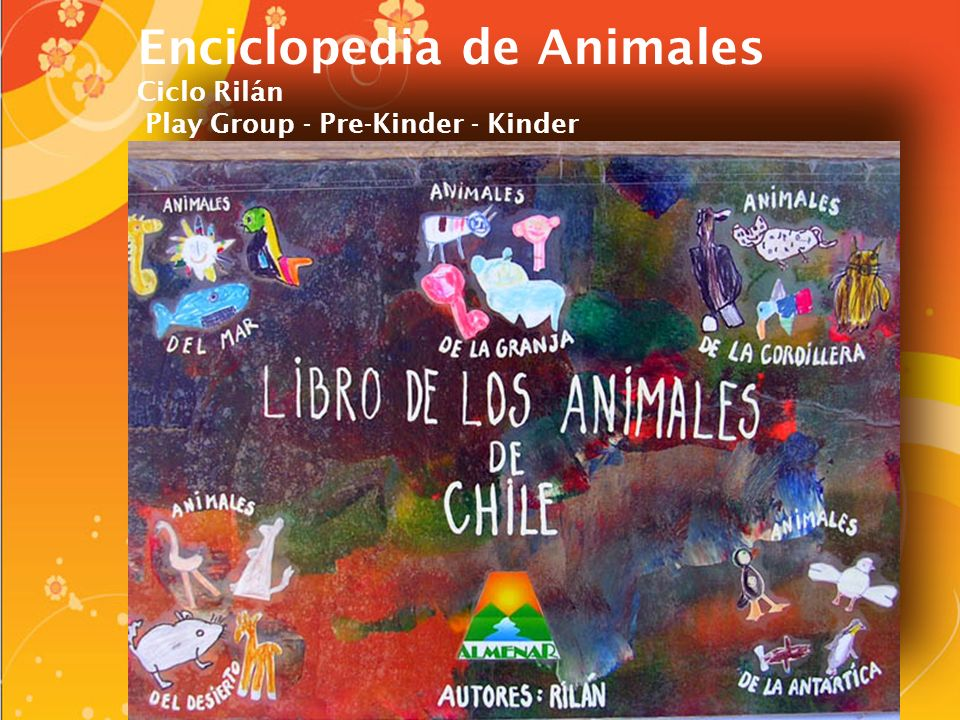 Enciclopedia de Animales Ciclo Rilán Play Group - Pre-Kinder - Kinder