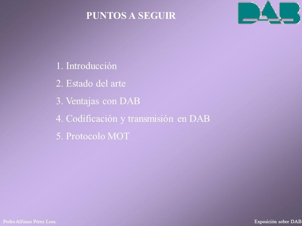 4. Codificación y transmisión en DAB