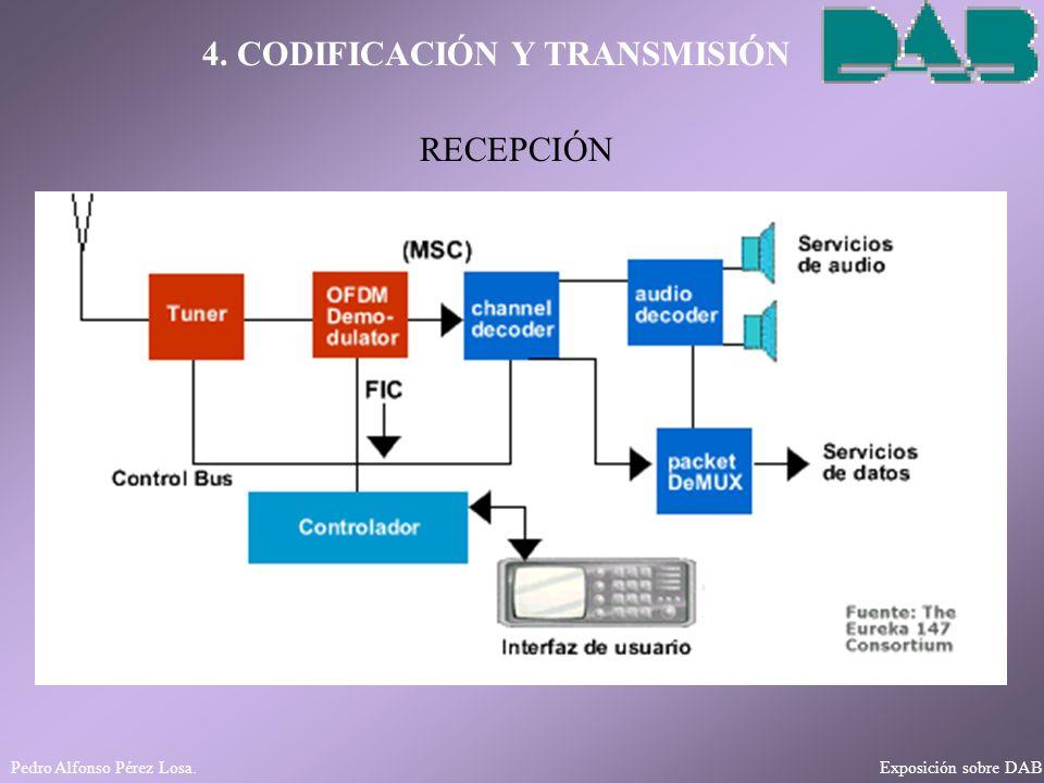4. CODIFICACIÓN Y TRANSMISIÓN