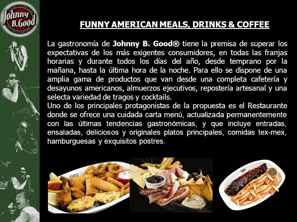 FUNNY AMERICAN MEALS, DRINKS & COFFEE