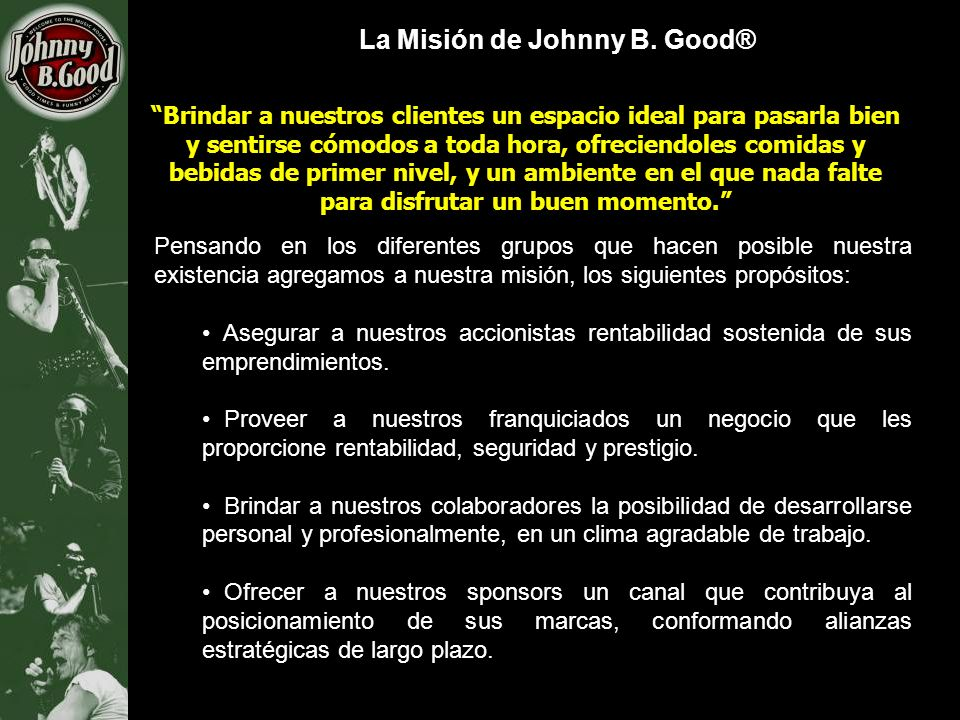 La Misión de Johnny B. Good®