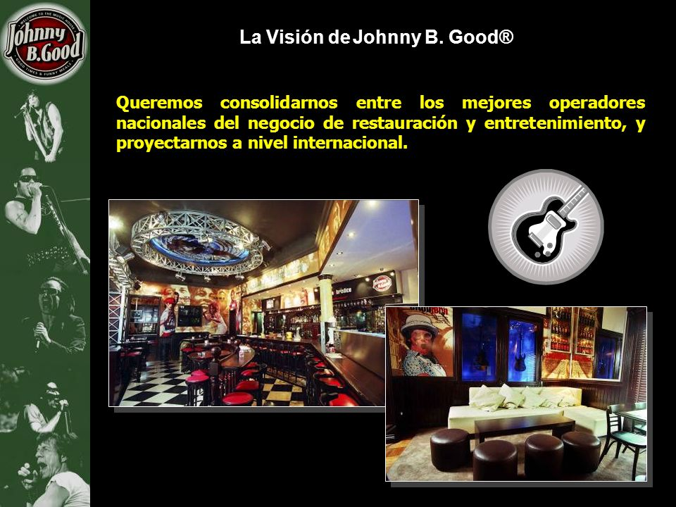 La Visión de Johnny B. Good®