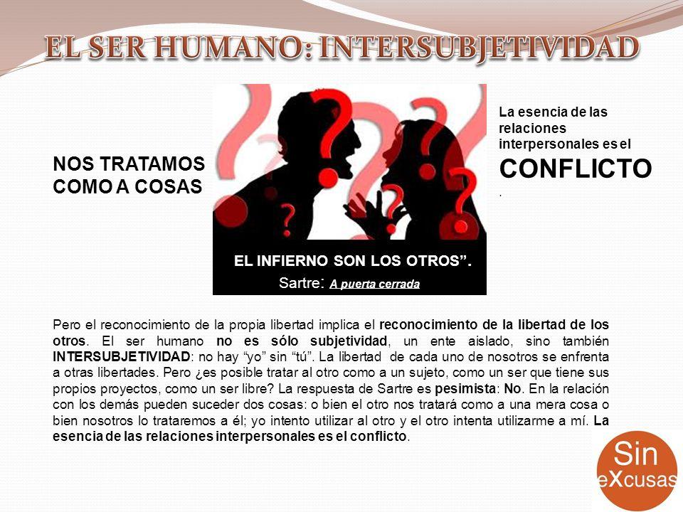 EL SER HUMANO: INTERSUBJETIVIDAD