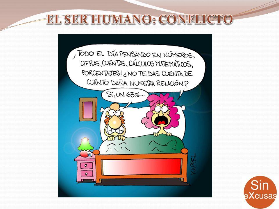 EL SER HUMANO: CONFLICTO