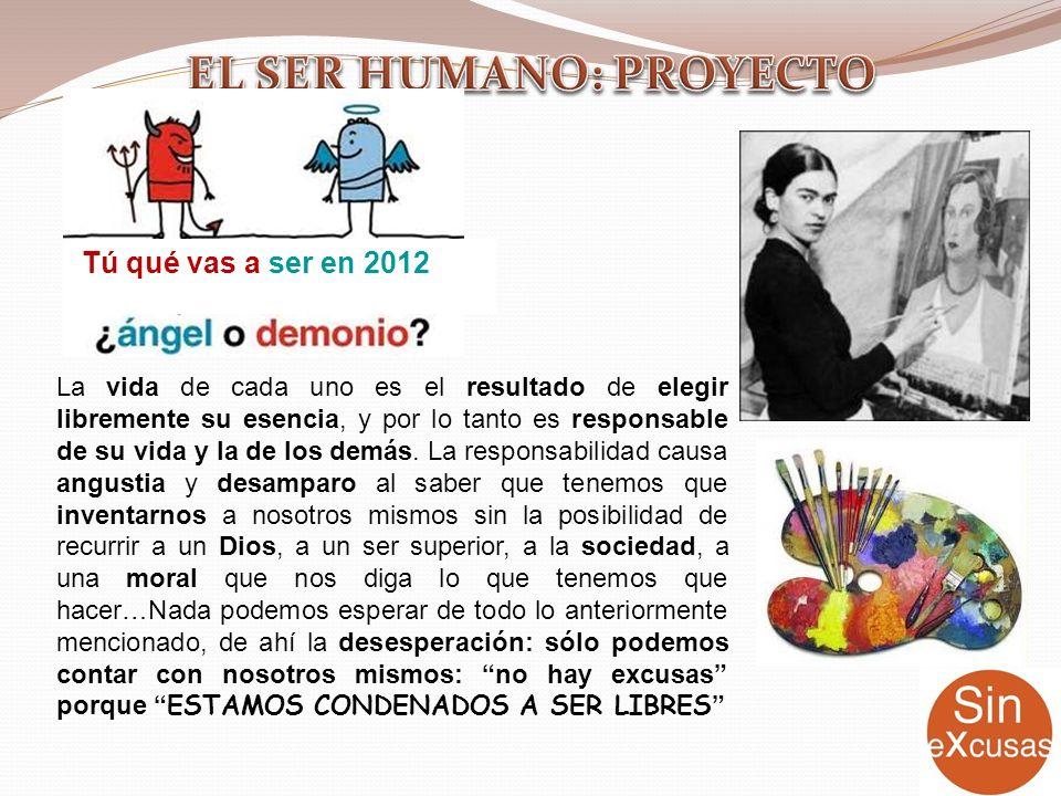 EL SER HUMANO: PROYECTO