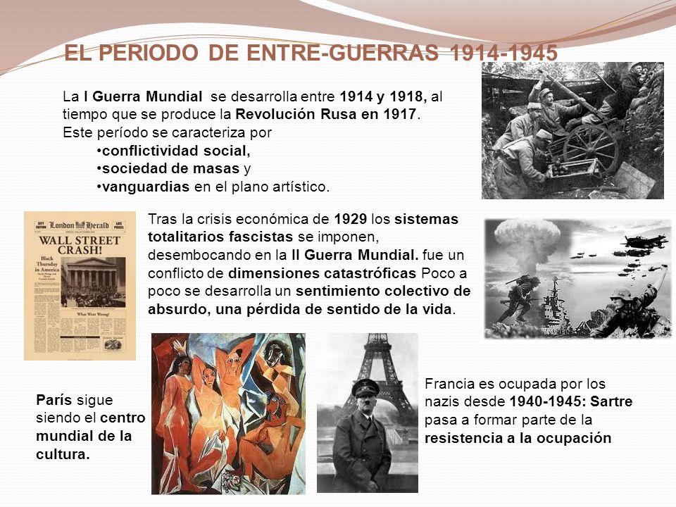 EL PERIODO DE ENTRE-GUERRAS 1914-1945