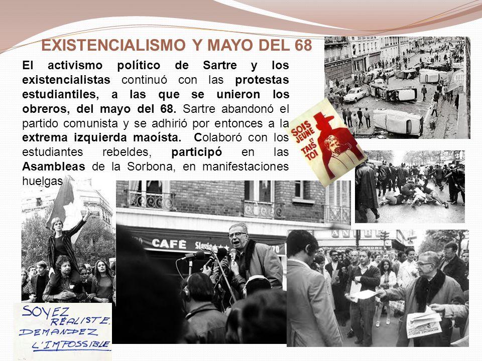 EXISTENCIALISMO Y MAYO DEL 68