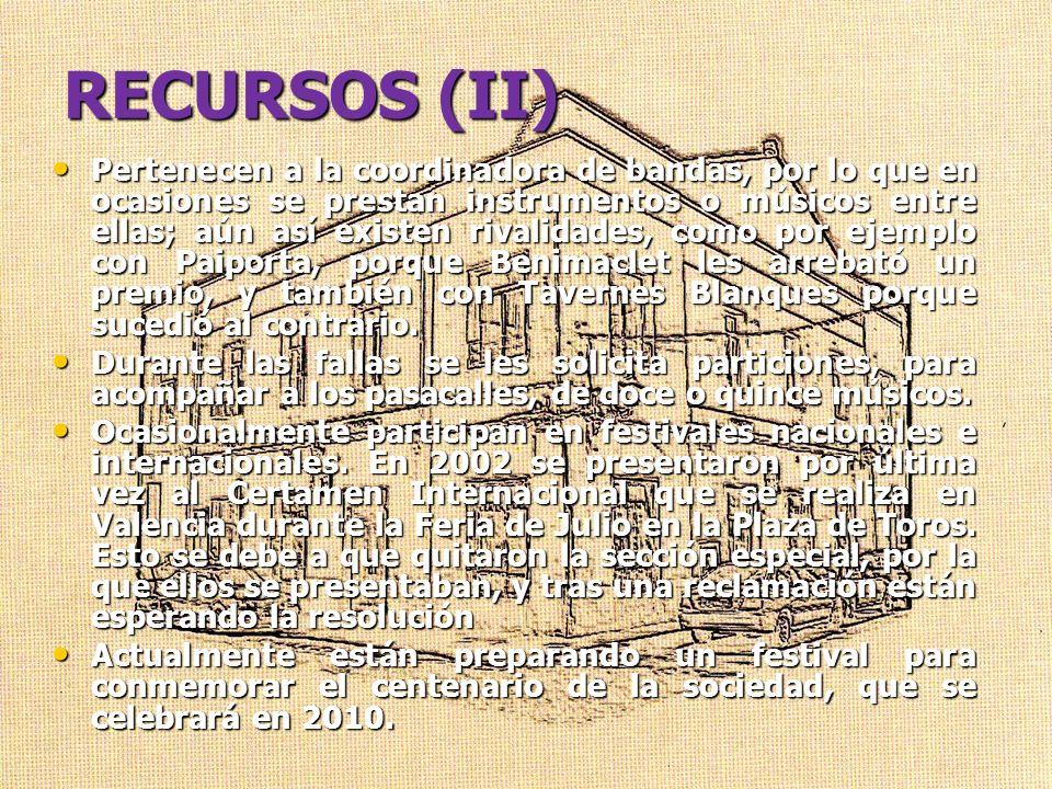 RECURSOS (II)