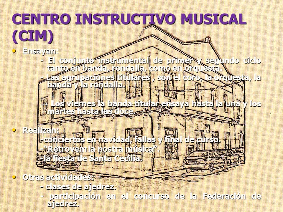 CENTRO INSTRUCTIVO MUSICAL (CIM)