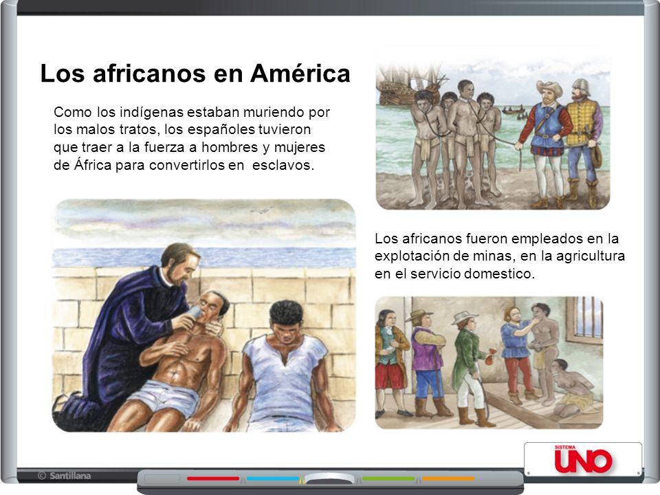 Los africanos en América