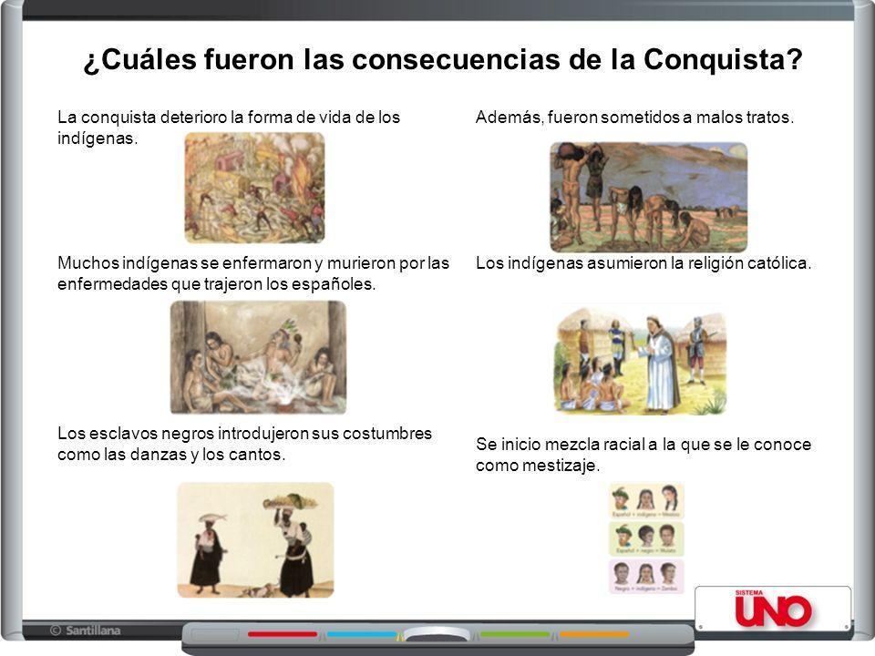 ¿Cuáles fueron las consecuencias de la Conquista