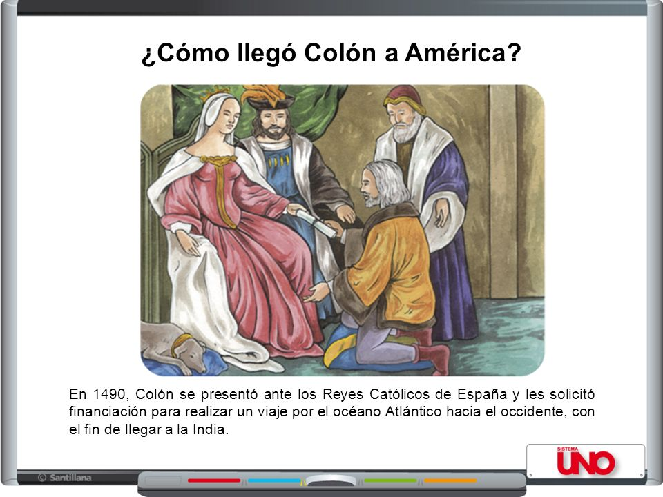 ¿Cómo llegó Colón a América