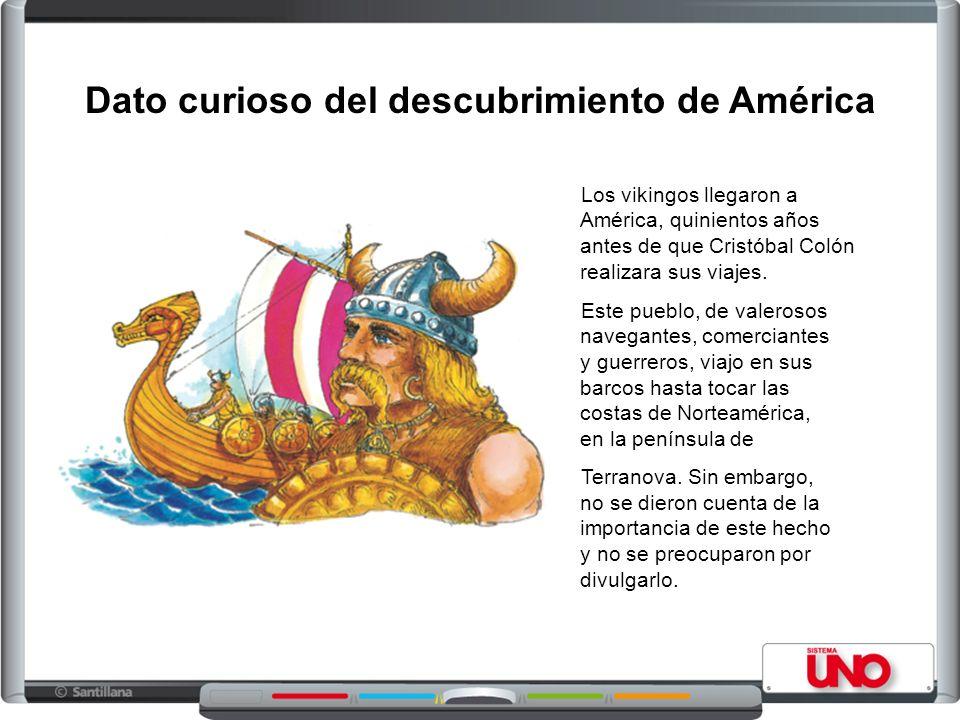 Dato curioso del descubrimiento de América