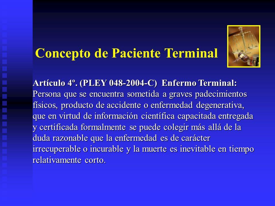 Concepto de Paciente Terminal