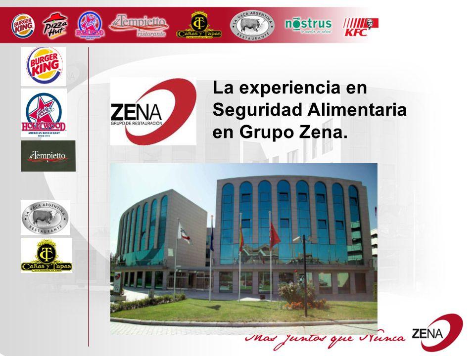 La experiencia en Seguridad Alimentaria en Grupo Zena.