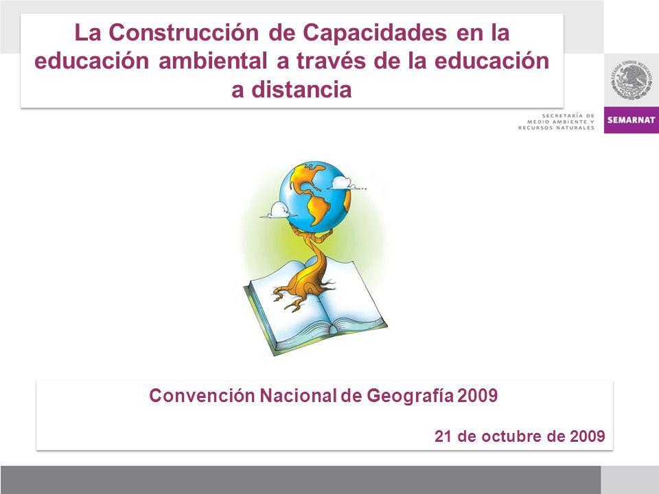 Convención Nacional de Geografía 2009
