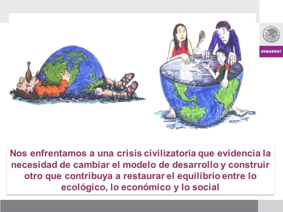 Hoy día enfrentamos una crisis que ha evidenciado a las sociedades la necesidad de reconsiderar sus estilos de vida para mejorar las relaciones de la sociedad con la naturaleza aprovechando en forma sustentable los recursos naturales y modificando las relaciones sociales.