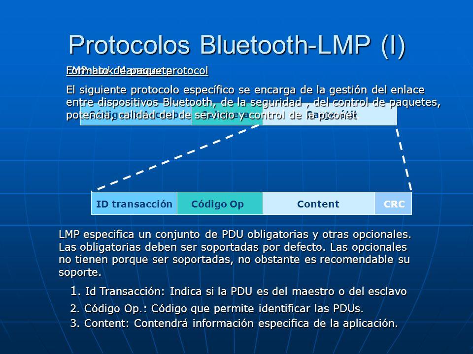 Protocolos Bluetooth-LMP (I)
