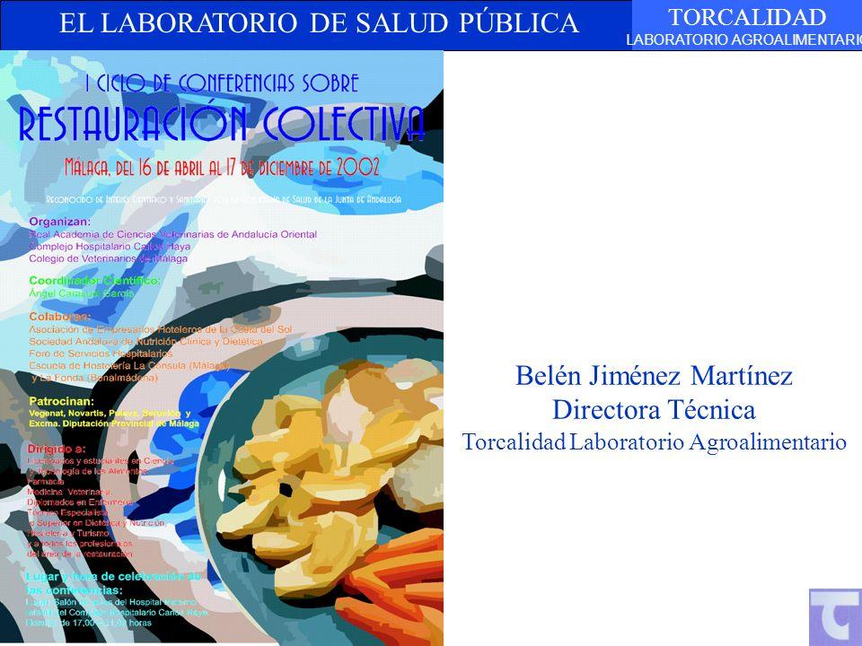 Belén Jiménez Martínez Directora Técnica