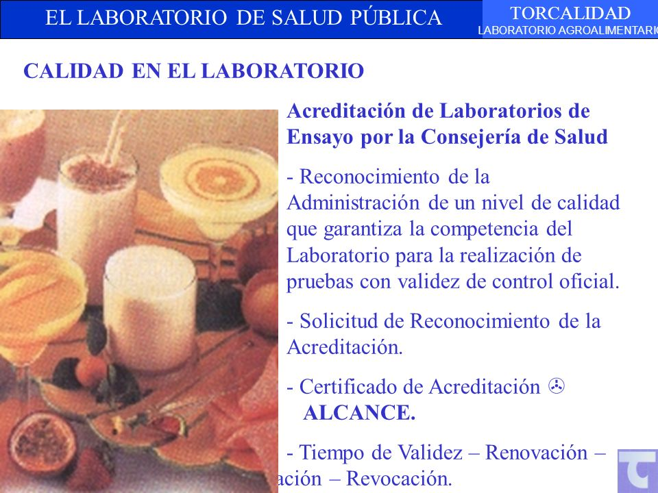 CALIDAD EN EL LABORATORIO