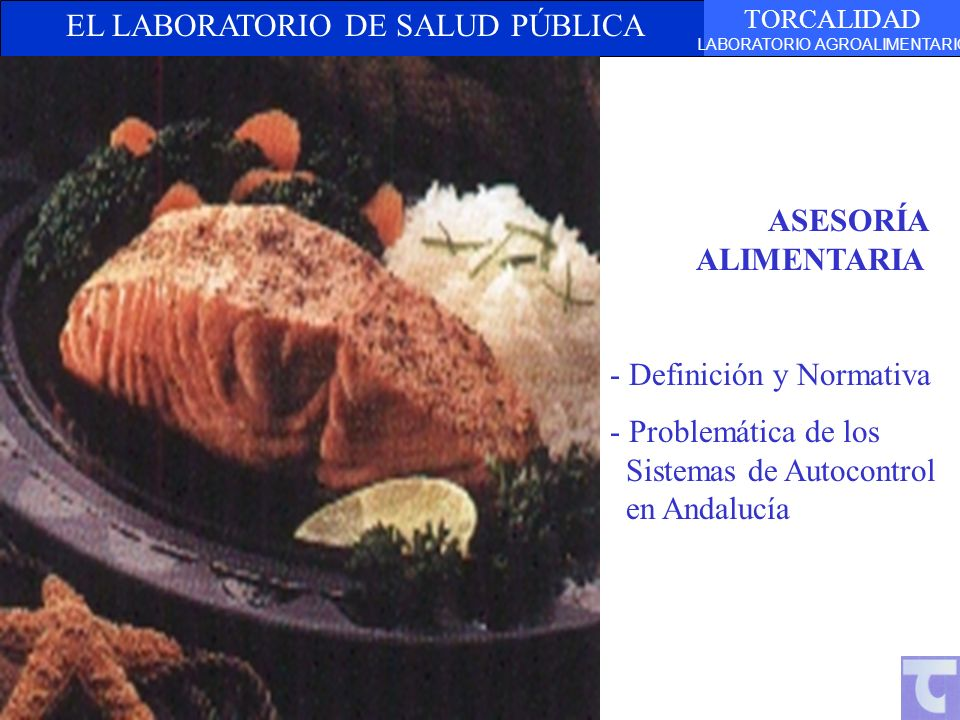 ASESORÍA ALIMENTARIA - Definición y Normativa.