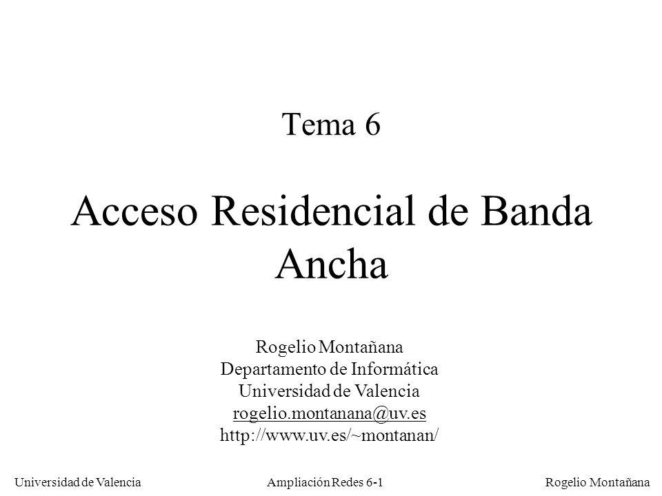 Tema 6 Acceso Residencial de Banda Ancha