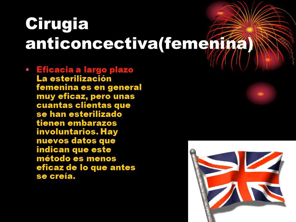 Cirugia anticoncectiva(femenina)