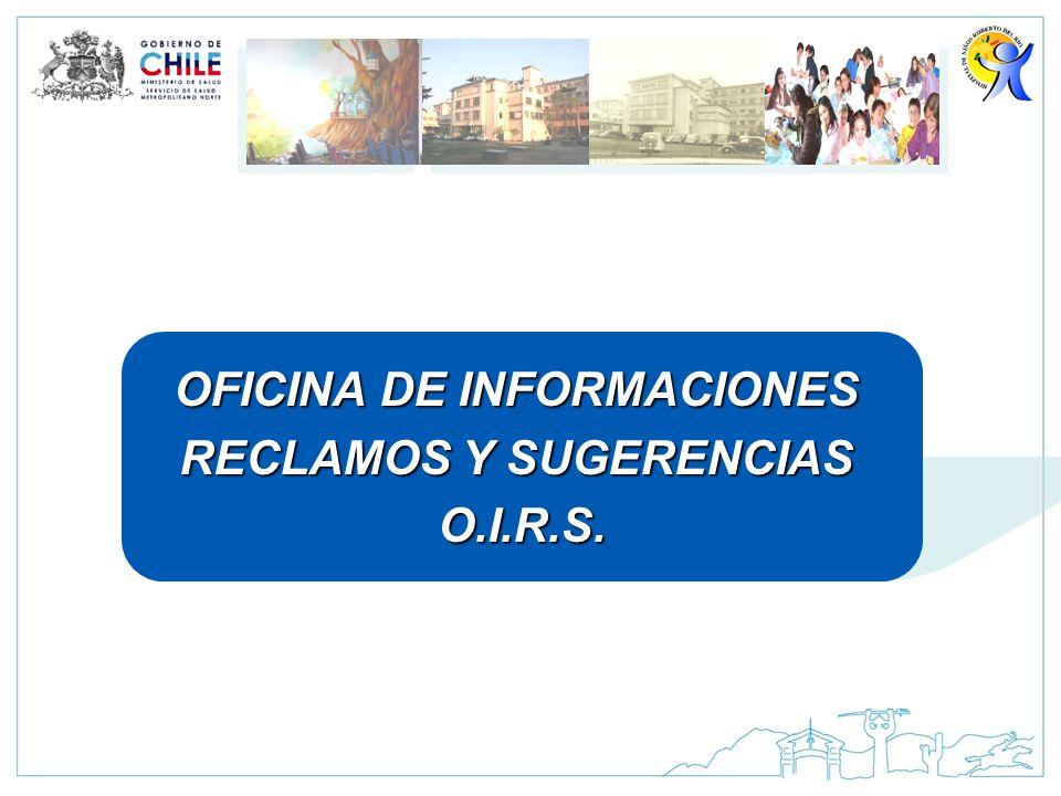 OFICINA DE INFORMACIONES RECLAMOS Y SUGERENCIAS