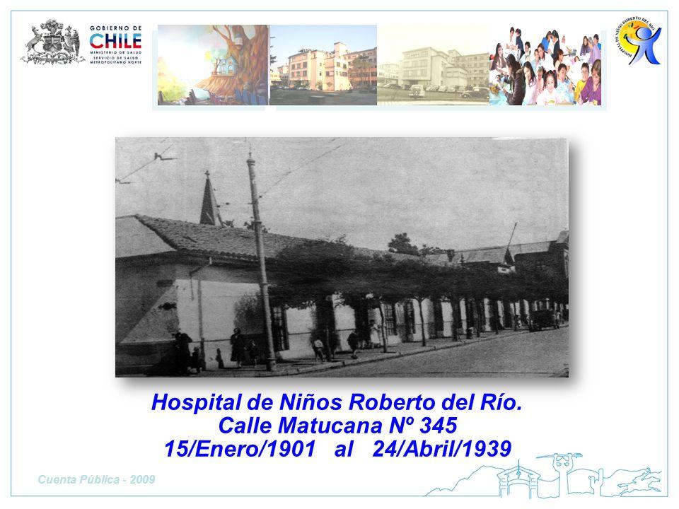 Hospital de Niños Roberto del Río.