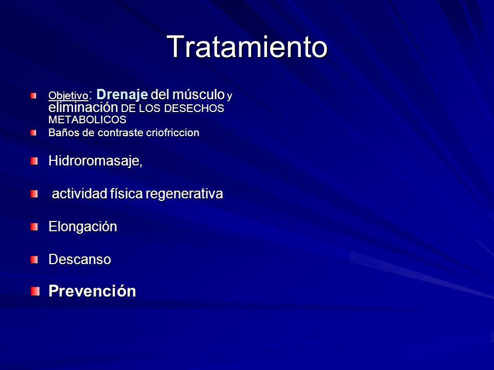 Tratamiento Prevención Hidroromasaje, actividad física regenerativa