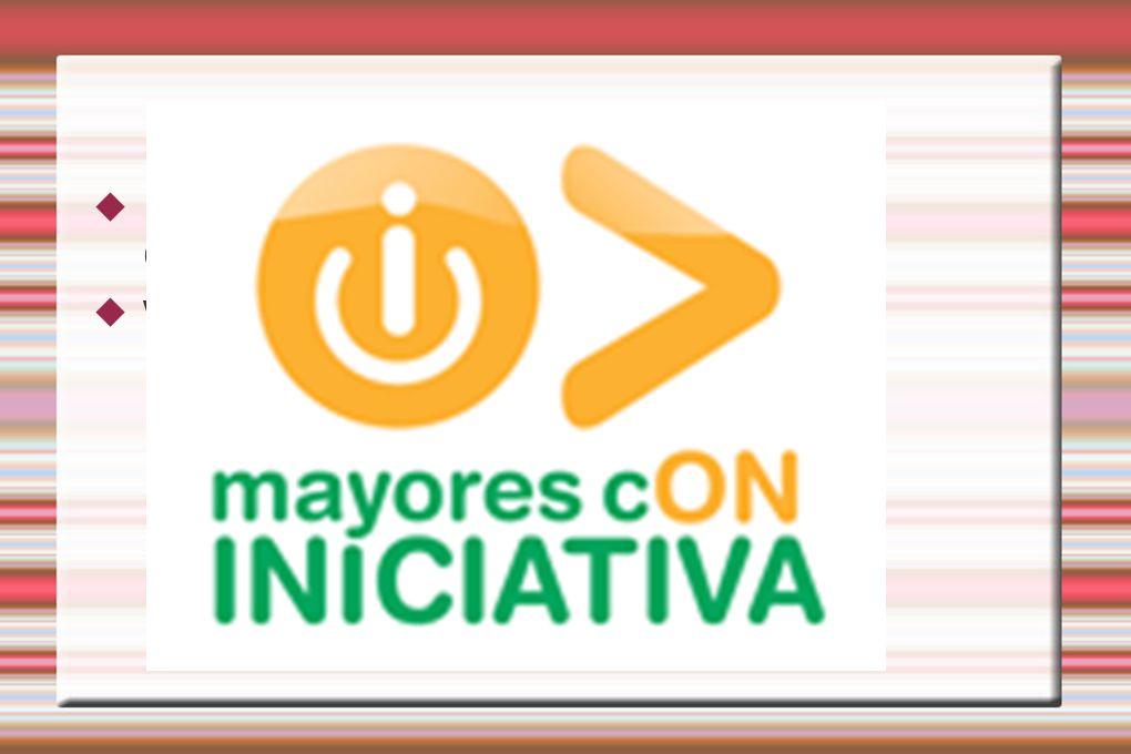 COLOFÓN NOS HEMOS APUNTADO A UN CONCURSO! www.mayoresconiniciativa.es