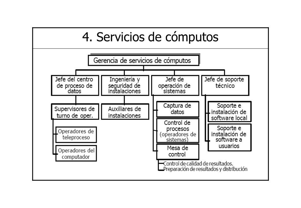 4. Servicios de cómputos