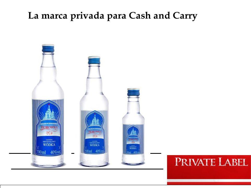 La marca privada para Cash and Carry