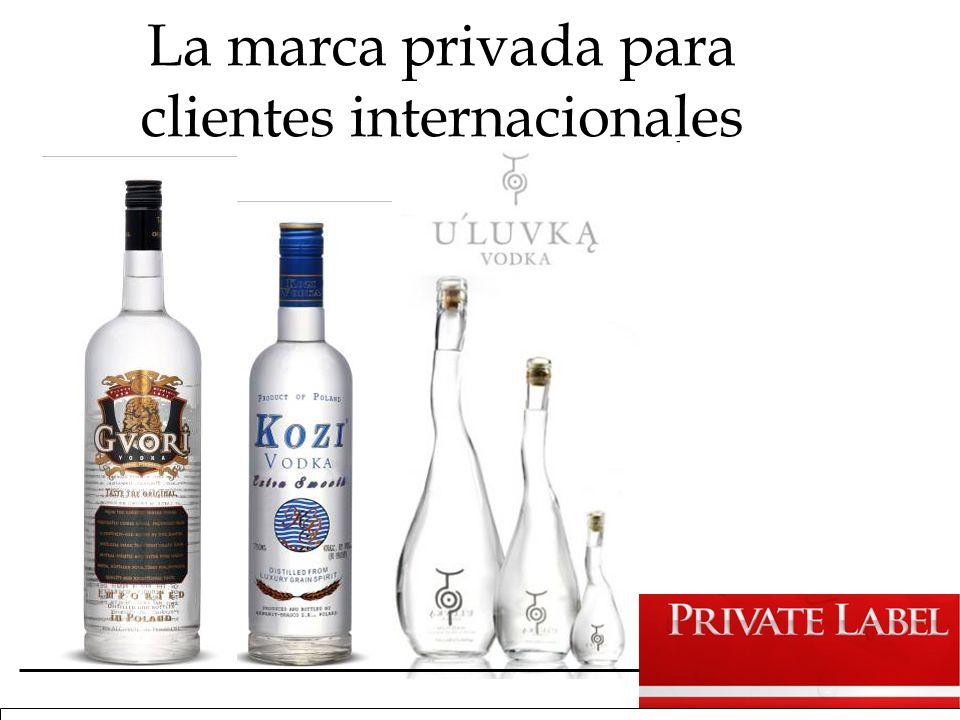 La marca privada para clientes internacionales