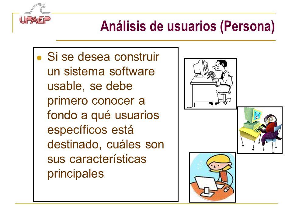 Análisis de usuarios (Persona)