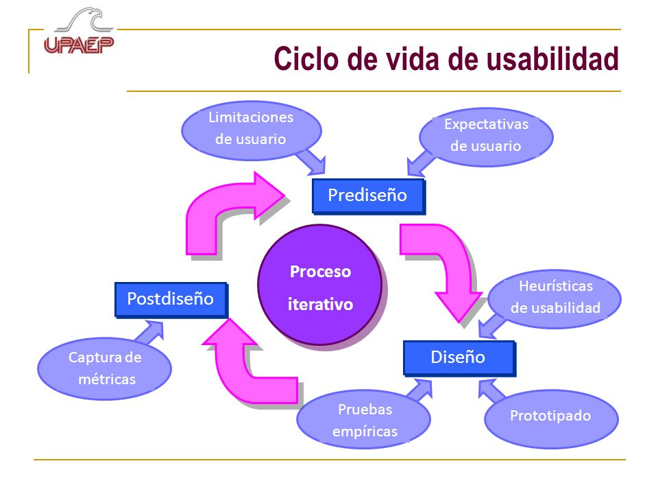 Ciclo de vida de usabilidad