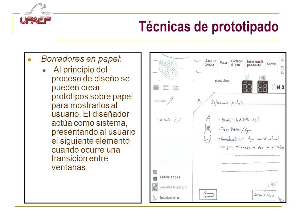 Técnicas de prototipado