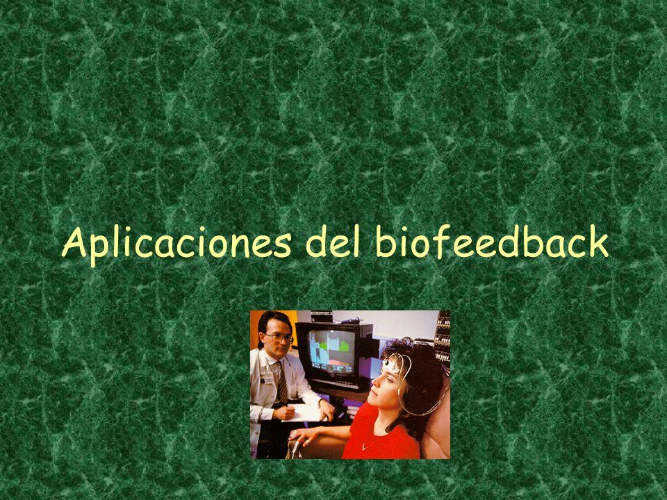 Aplicaciones del biofeedback