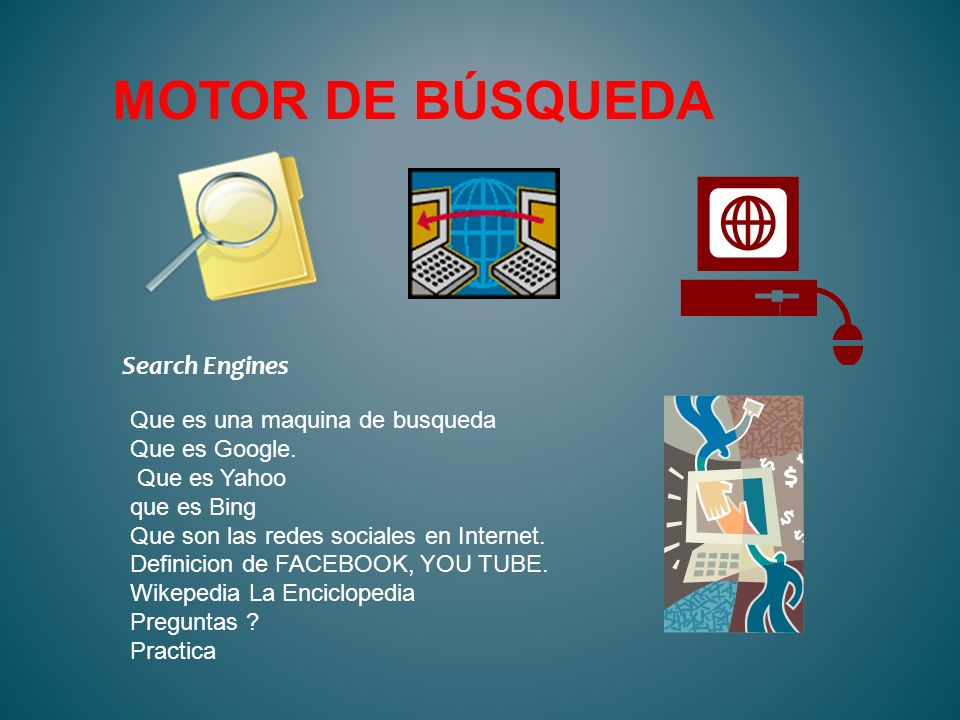 Motor de búsqueda Search Engines