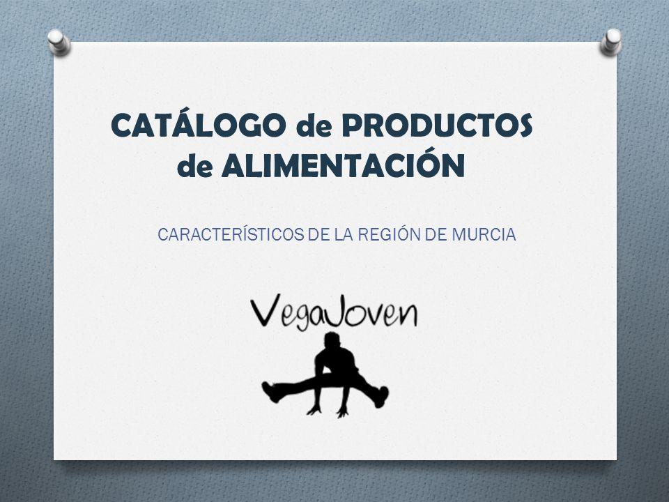 CATÁLOGO de PRODUCTOS de ALIMENTACIÓN