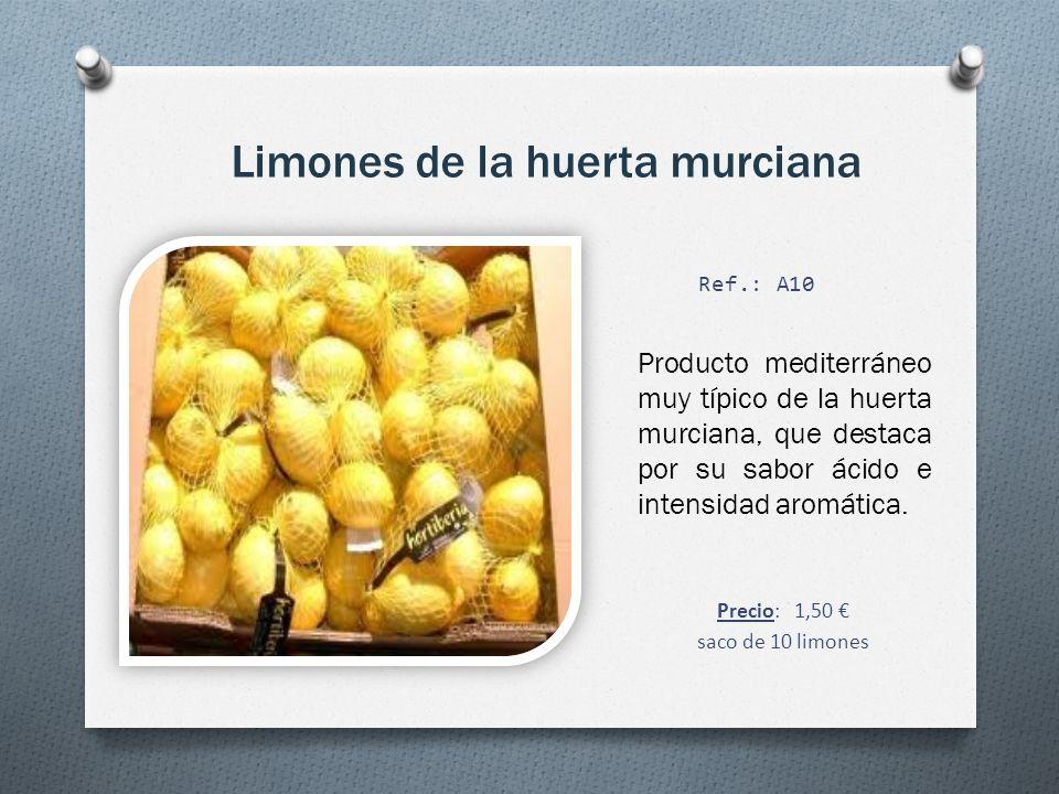 Limones de la huerta murciana