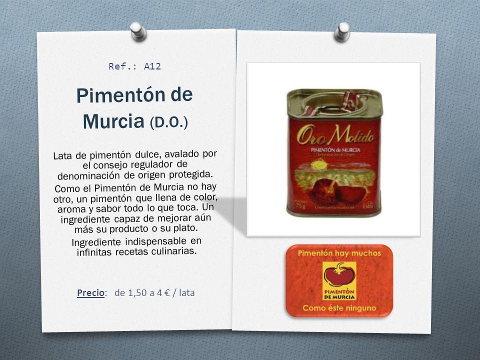 Pimentón de Murcia (D.O.)