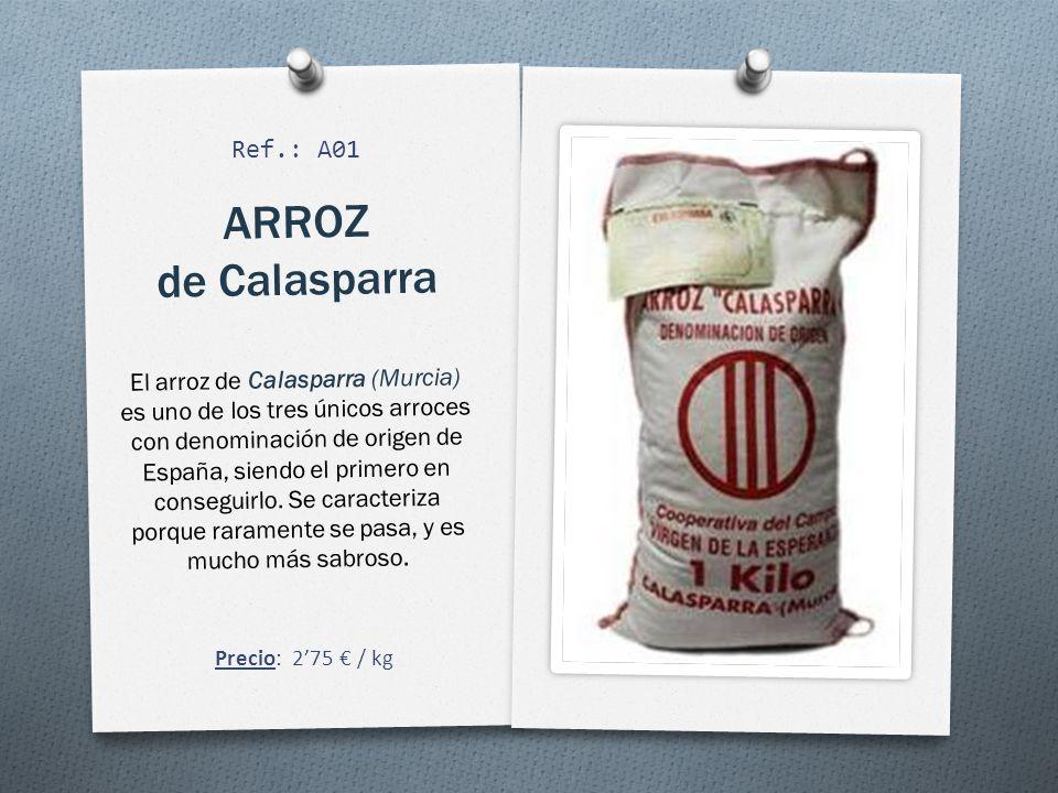 ARROZ de Calasparra Ref.: A01