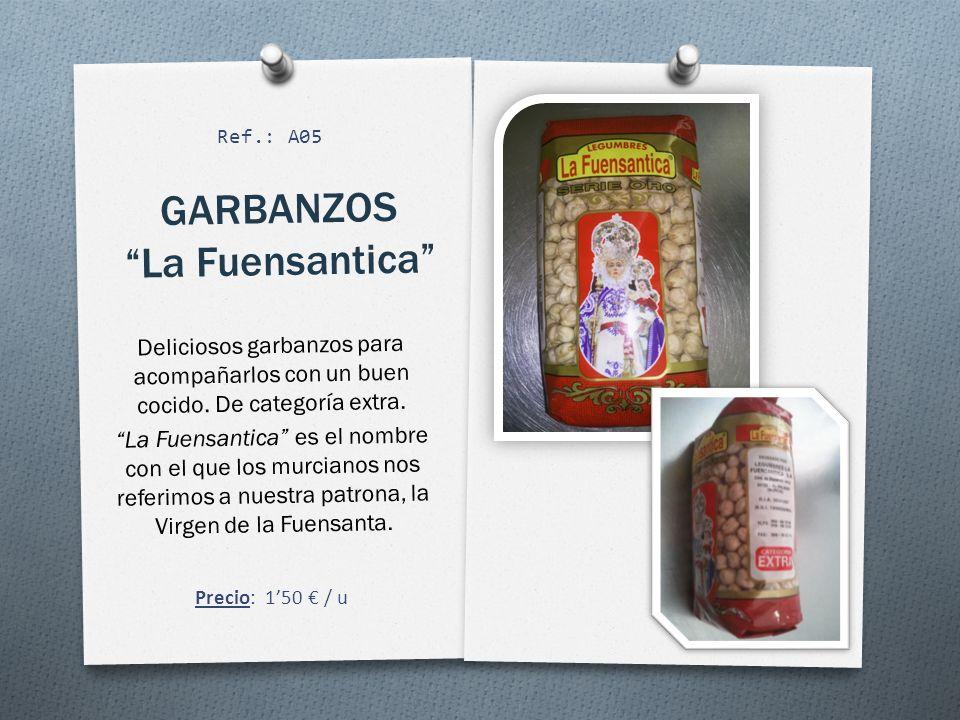 GARBANZOS La Fuensantica