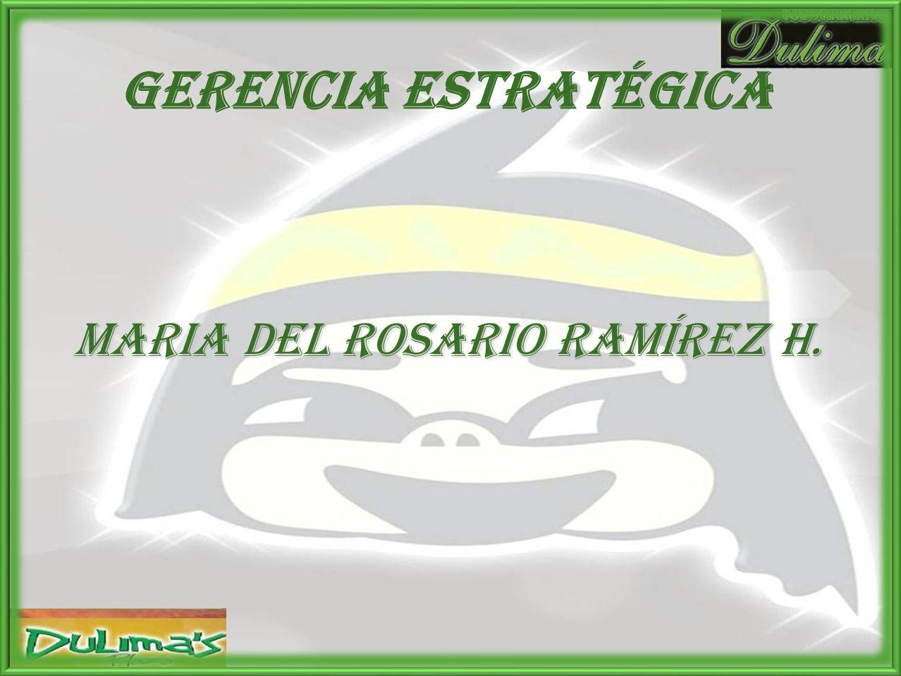 MARIA DEL ROSARIO RAMÍREZ H.