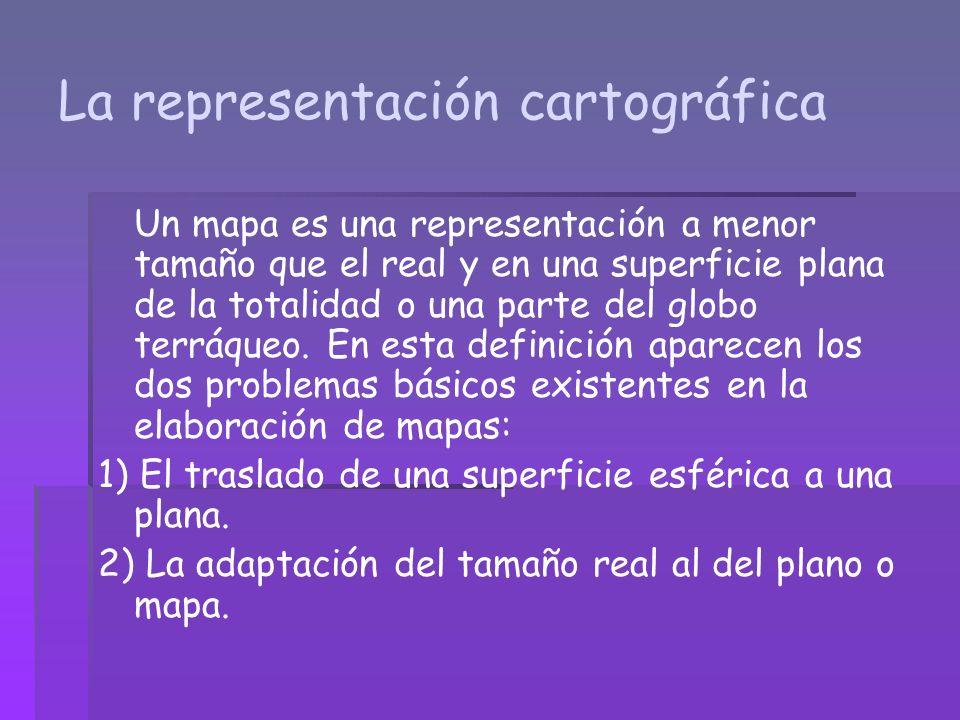 La representación cartográfica
