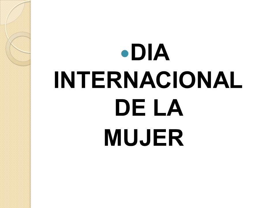 DIA INTERNACIONAL DE LA