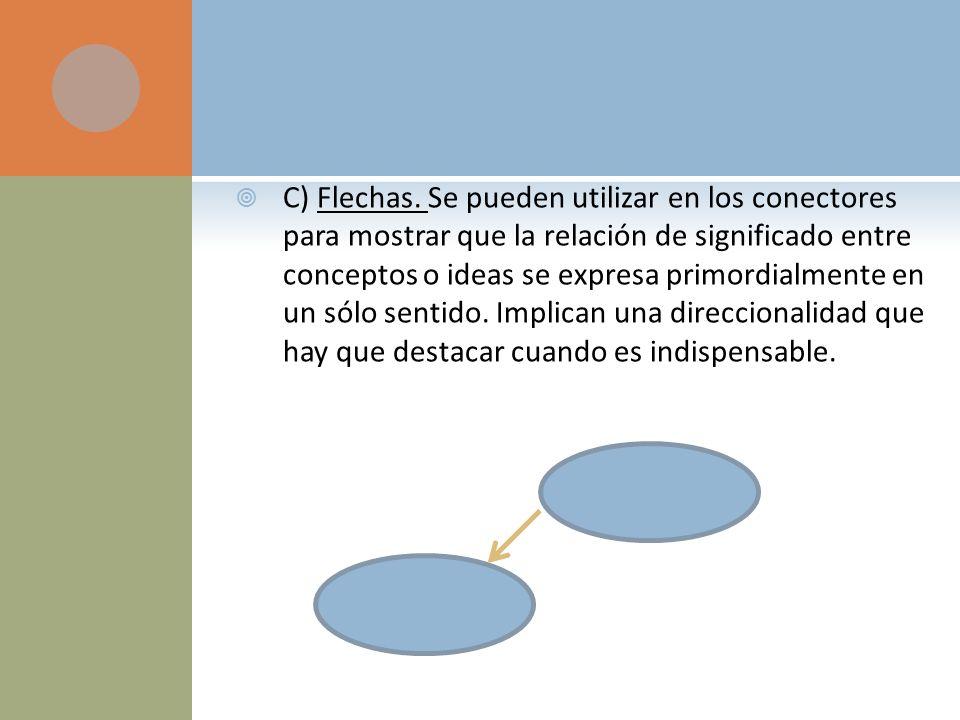C) Flechas.