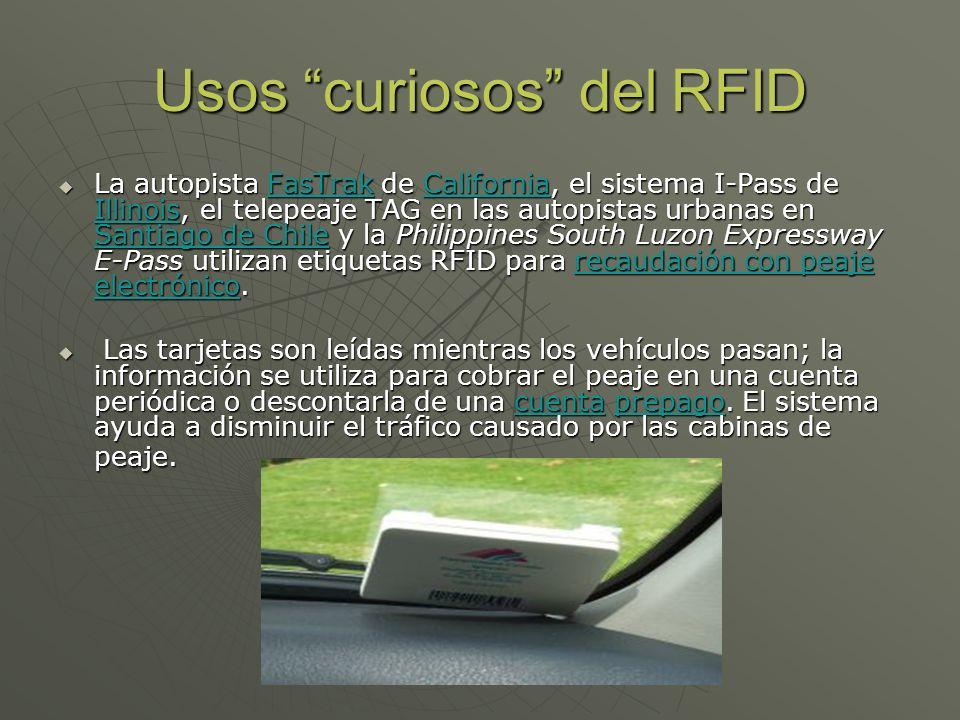 Usos curiosos del RFID