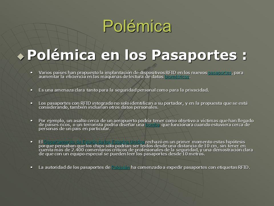 Polémica Polémica en los Pasaportes :